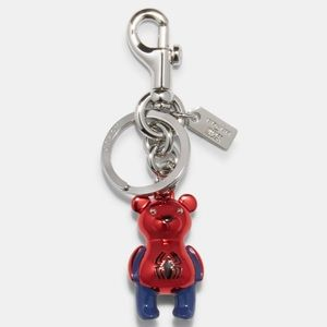 Coach/Marvel Spider-Man Bear Bag Charm